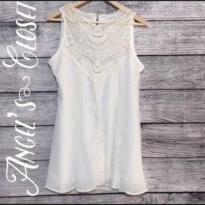 Dresses & Skirts - White Shift Dress.